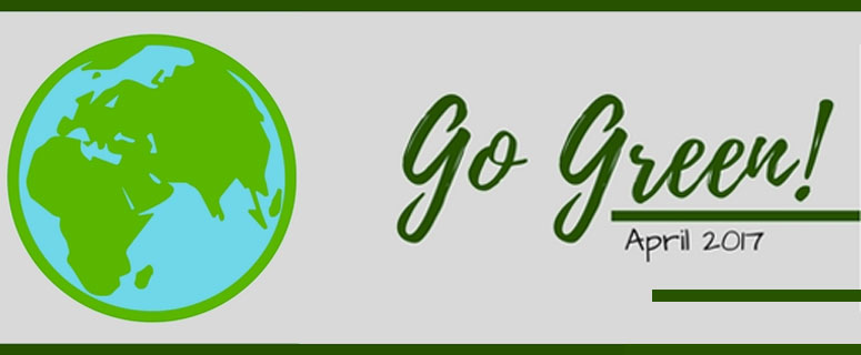 Go Green: It's Earth Day!